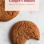 ginger cookies pin