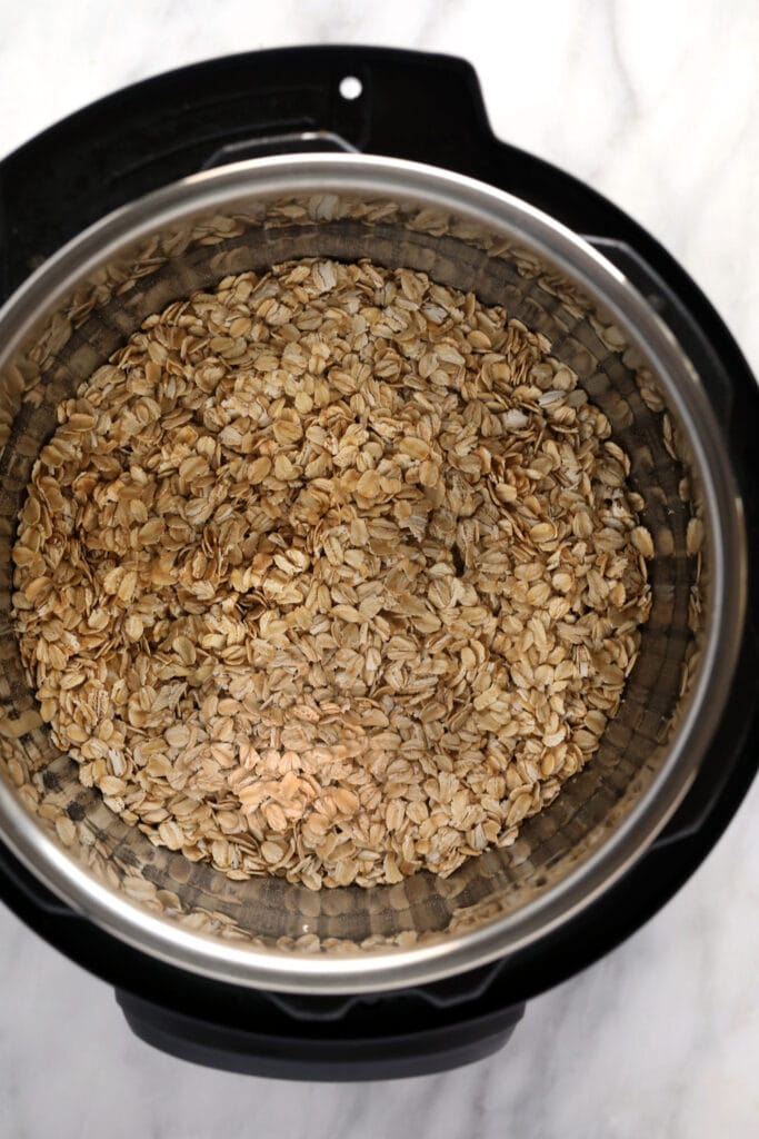 oats in Instant Pot