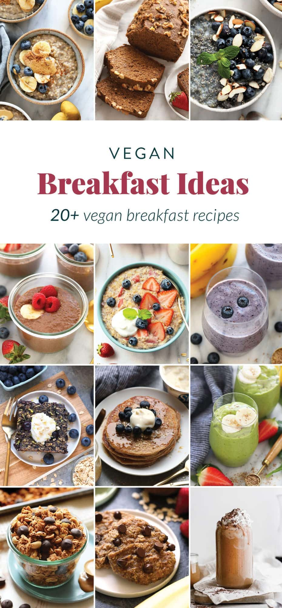Easy Vegan Breakfast Ideas 25 Vegan Breakfasts Fit Foodie Finds
