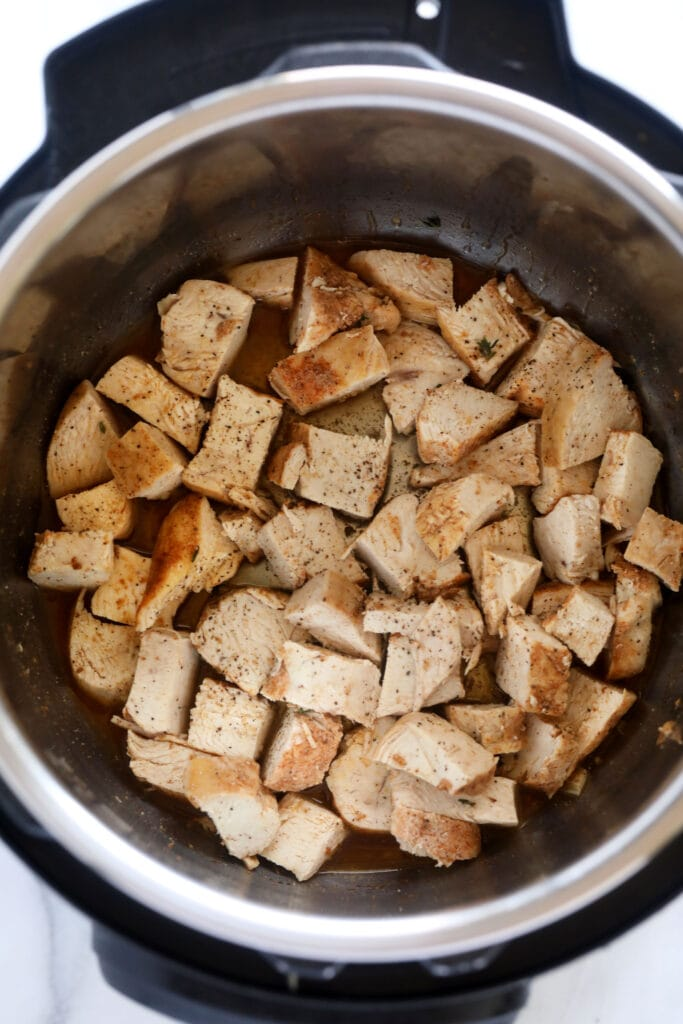 diced chicken breast in instant pot