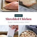 easiest shredded chicken
