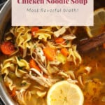 ip chicken noodle soup pin
