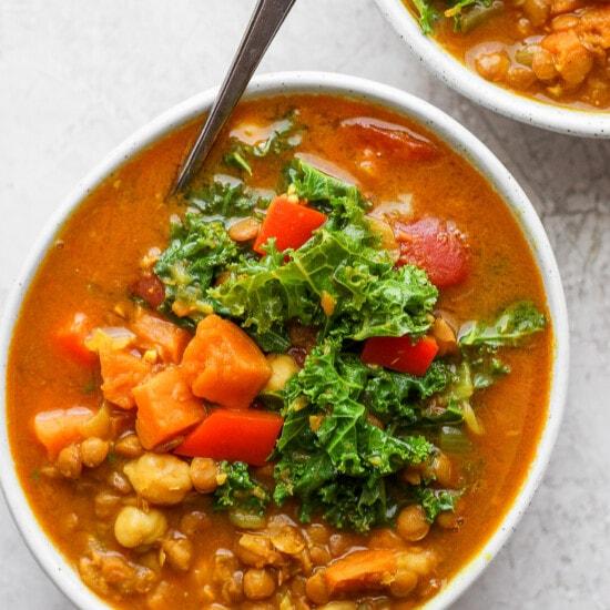 Instant Pot Soup in a bowl