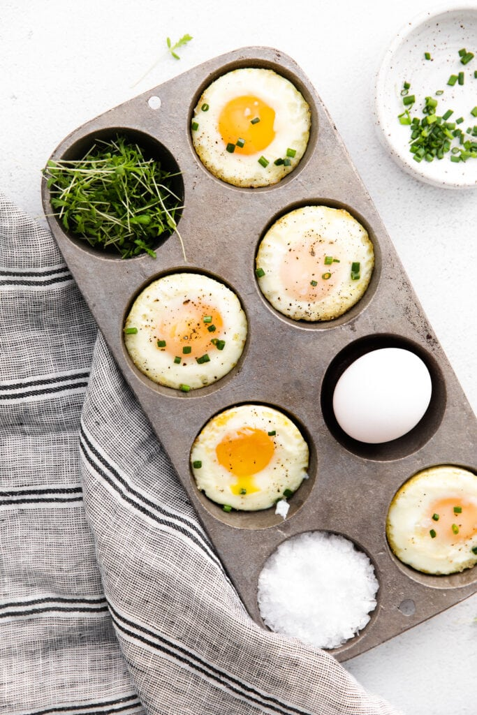 eggs for muffins