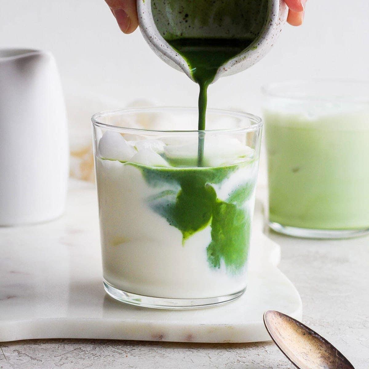 Iced Matcha Latte Recipe