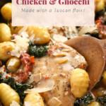 creamy chicken and gnocchi
