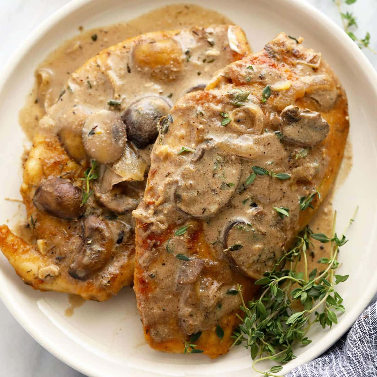 Chicken Marsala (30-min. meal!) – Fit Foodie Finds