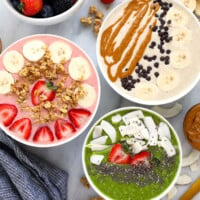3 smoothie bowls