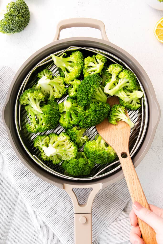 broccoli in Always Pan