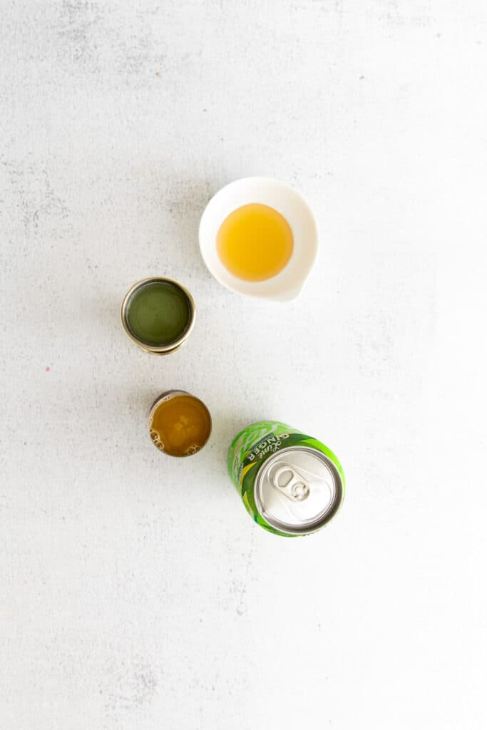 margarita ingredients on countertop