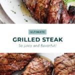 grilled steak pin