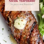 steak marinade pin