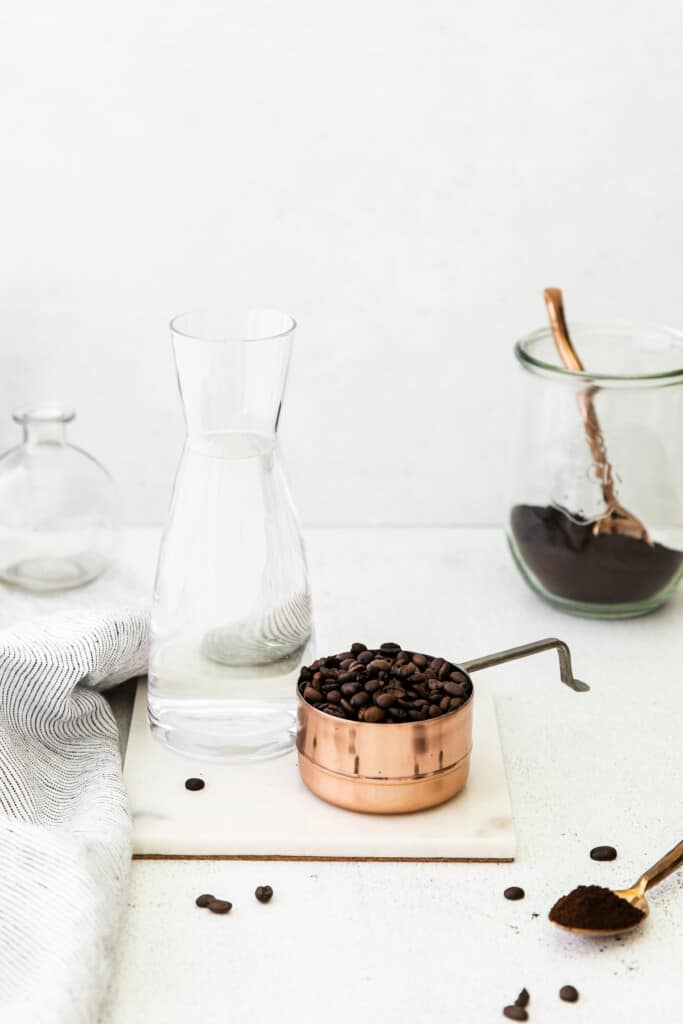 Cold brew coffee ingredients