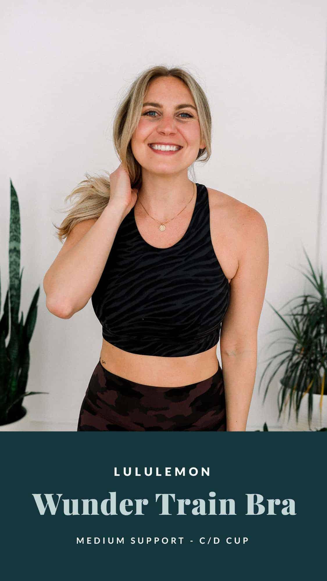 woman wearing sports bra