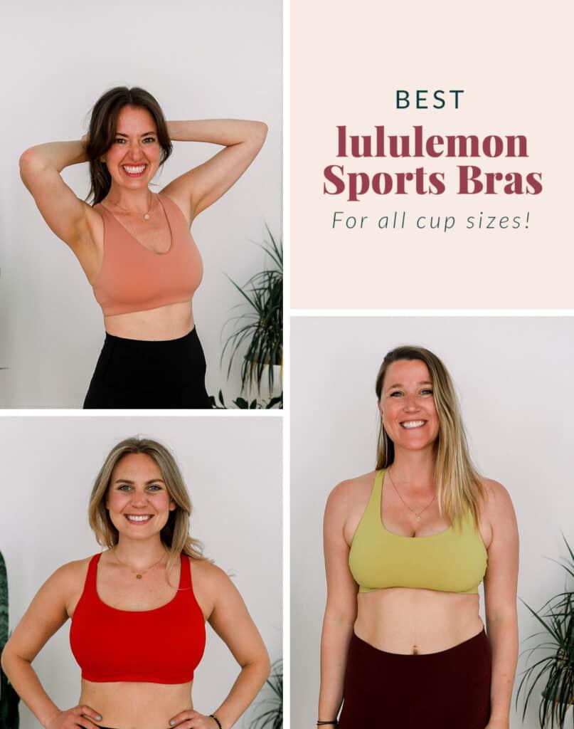 3 women in sports bras