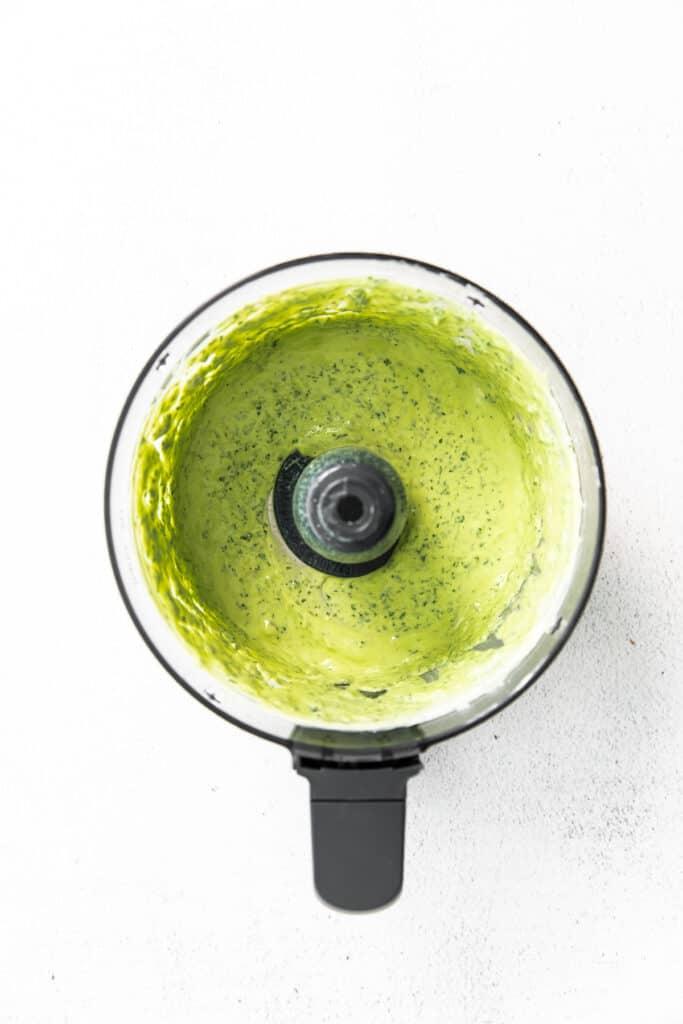 green goddess dressing in food processor