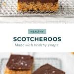 healthy scotcheroos