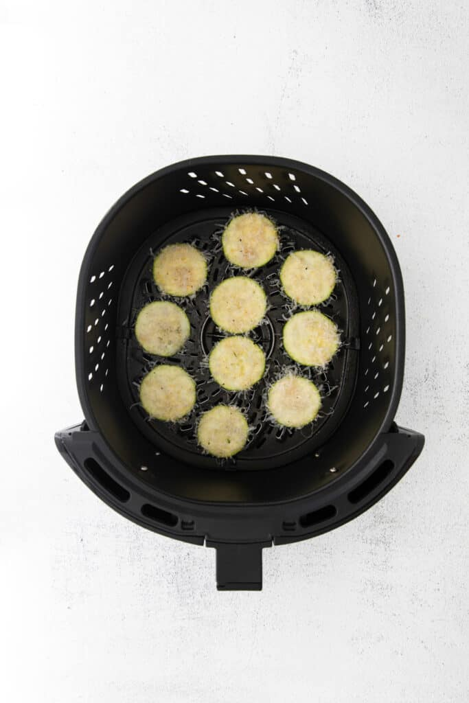 zucchini slices in the air fryer