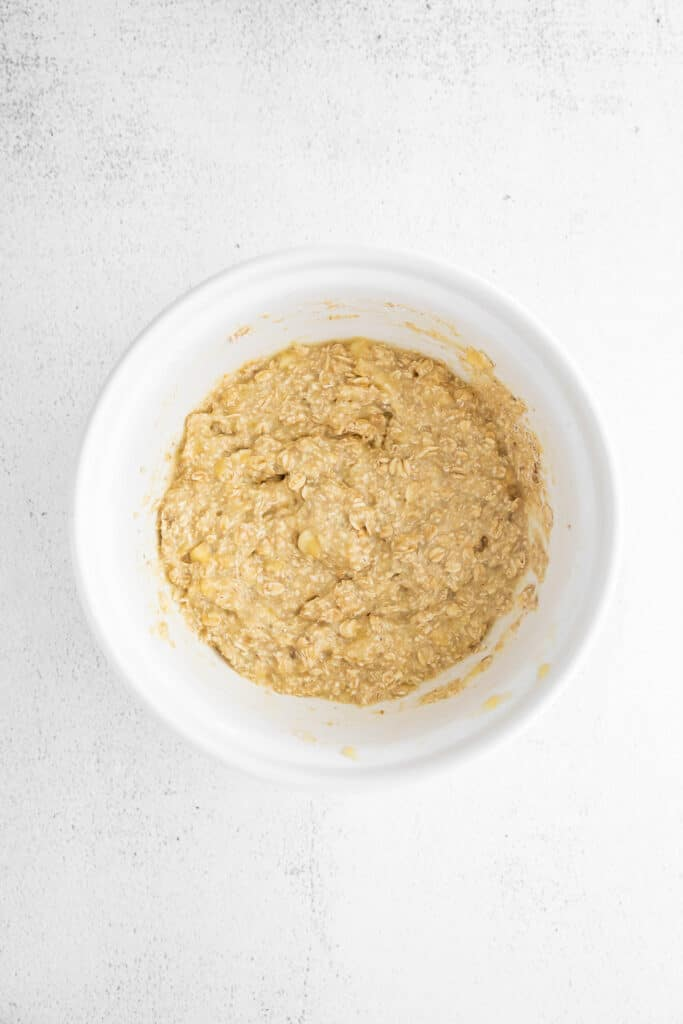 bowl of pancakes batter