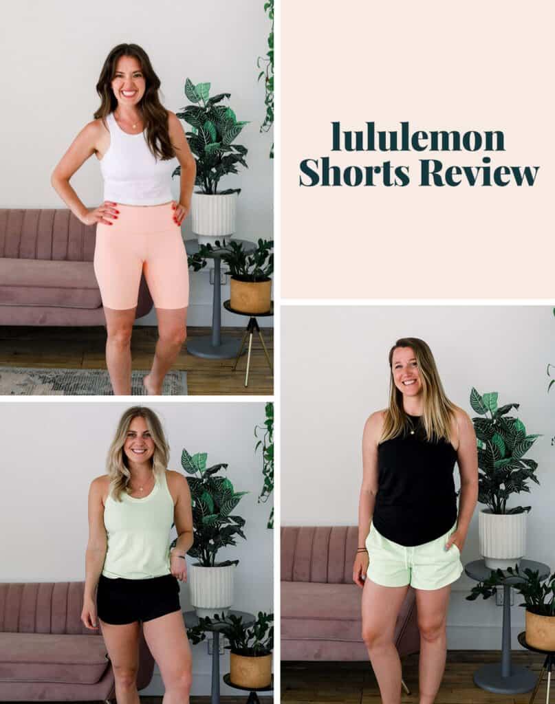lululemon shorts review