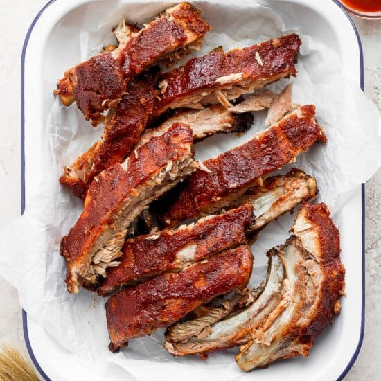 Oven baked ribs