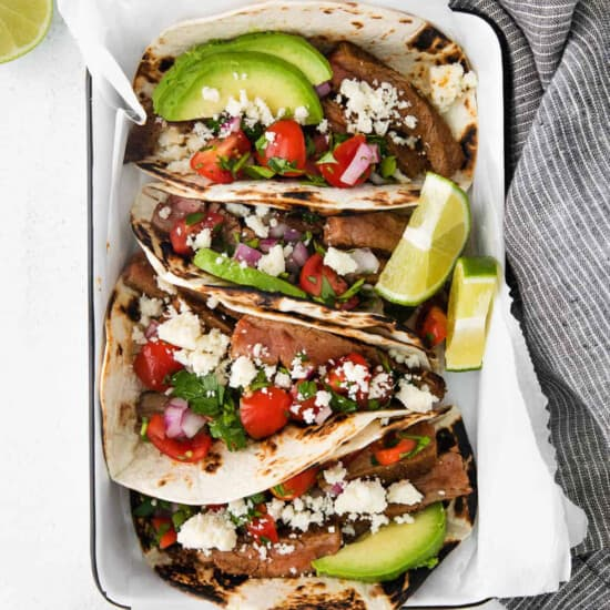 easy steak tacos