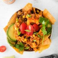 cauliflower taco skillet