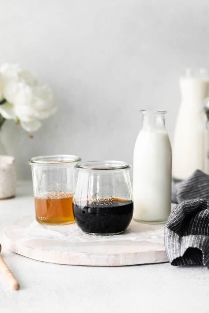 miel ingredients in weck jars