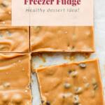 cookie dough freezer fudge