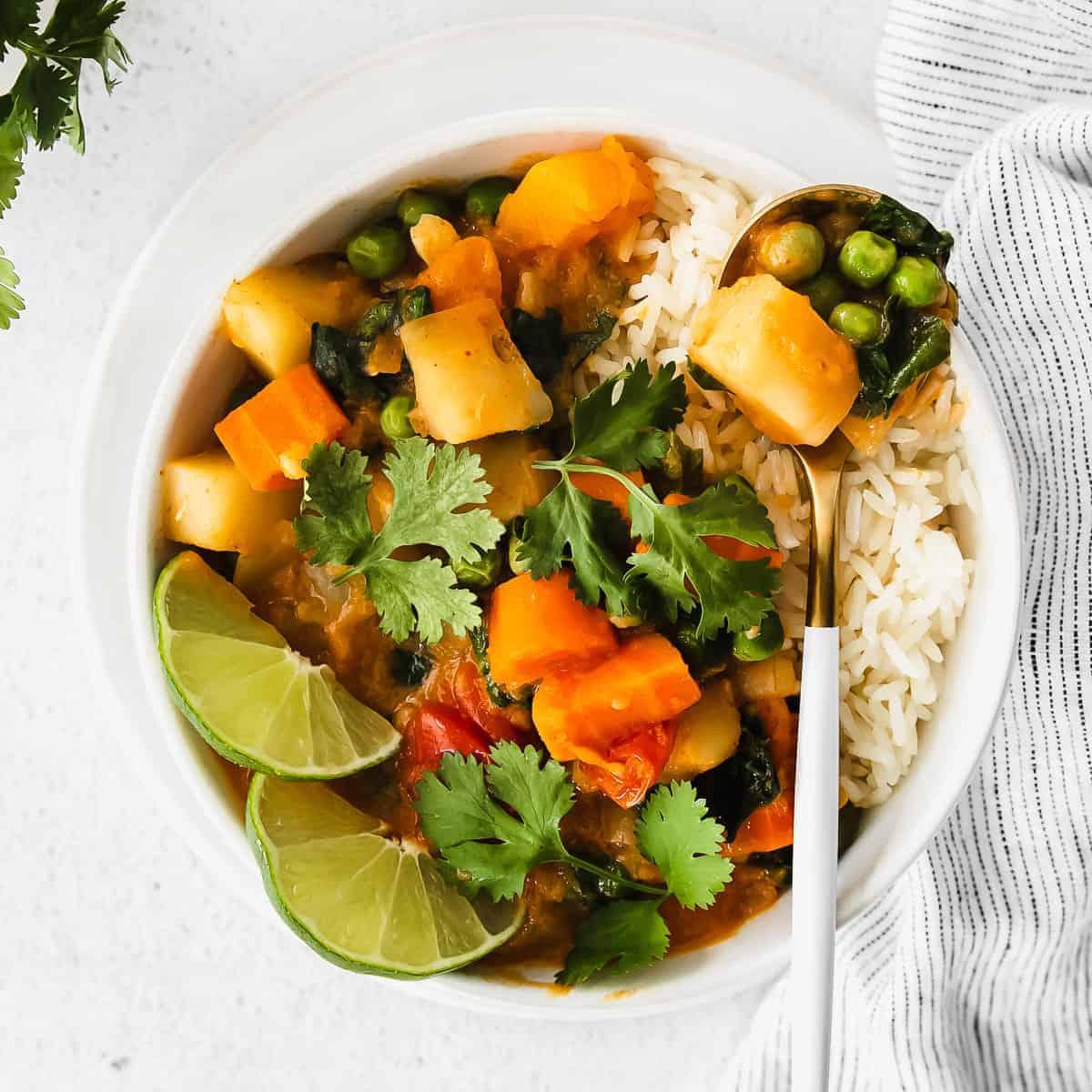 Instant Pot Pumpkin Curry